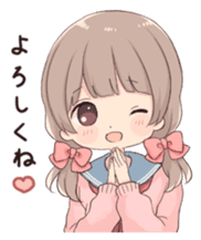 Usagikei kanojo sticker 2nd sticker #10696416