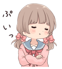 Usagikei kanojo sticker 2nd sticker #10696419