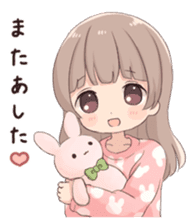 Usagikei kanojo sticker 2nd sticker #10696423