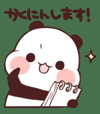 Keigo Panda sticker #10699769