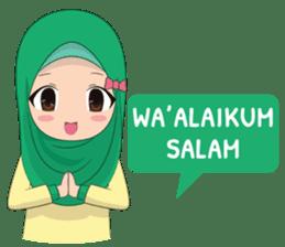 Dunia Jilbab sticker #10700753