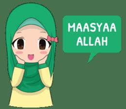 Dunia Jilbab sticker #10700755