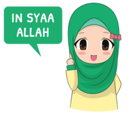 Dunia Jilbab sticker #10700757