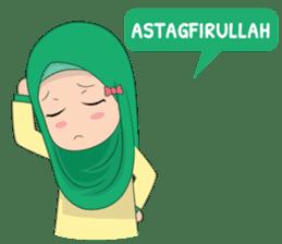 Dunia Jilbab sticker #10700758