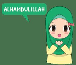 Dunia Jilbab sticker #10700759