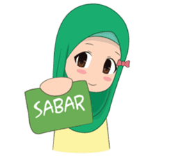 Dunia Jilbab sticker #10700760