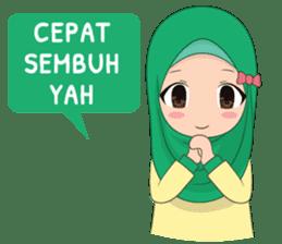 Dunia Jilbab sticker #10700763