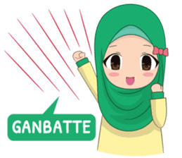 Dunia Jilbab sticker #10700764