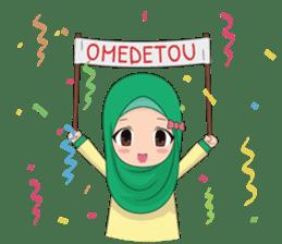 Dunia Jilbab sticker #10700766