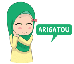 Dunia Jilbab sticker #10700767