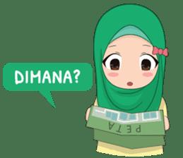 Dunia Jilbab sticker #10700769