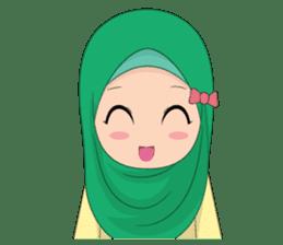 Dunia Jilbab sticker #10700771
