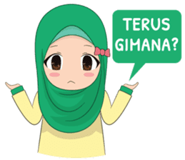 Dunia Jilbab sticker #10700773