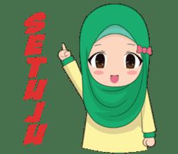Dunia Jilbab sticker #10700774