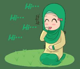 Dunia Jilbab sticker #10700776