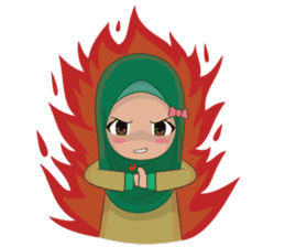Dunia Jilbab sticker #10700778