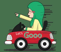 Dunia Jilbab sticker #10700779