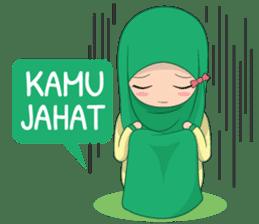 Dunia Jilbab sticker #10700780