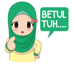 Dunia Jilbab sticker #10700782
