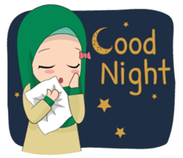Dunia Jilbab sticker #10700783