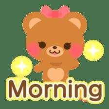 bear-English- sticker #10701072