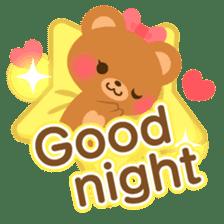 bear-English- sticker #10701073