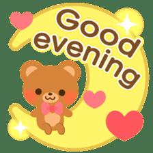 bear-English- sticker #10701074