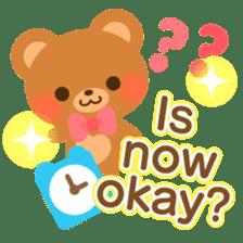 bear-English- sticker #10701077
