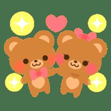 bear-English- sticker #10701078