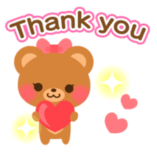 bear-English- sticker #10701079