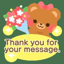 bear-English- sticker #10701080