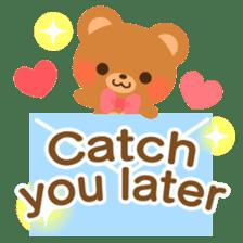 bear-English- sticker #10701081