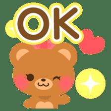 bear-English- sticker #10701084