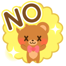 bear-English- sticker #10701085