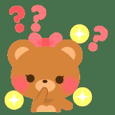 bear-English- sticker #10701088