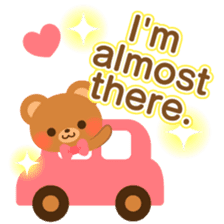 bear-English- sticker #10701091