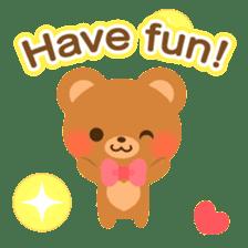 bear-English- sticker #10701093