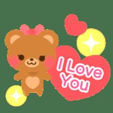 bear-English- sticker #10701097
