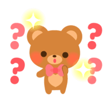 bear-English- sticker #10701098
