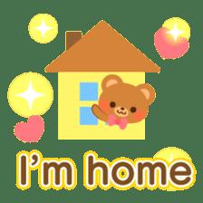 bear-English- sticker #10701099