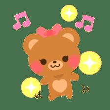 bear-English- sticker #10701105