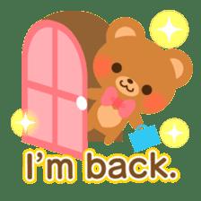 bear-English- sticker #10701106