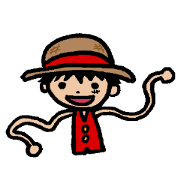สติ๊กเกอร์ไลน์ ONE PIECE doodles sticker