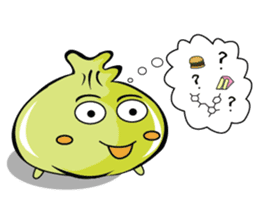 Green Dumplings sticker #10708308