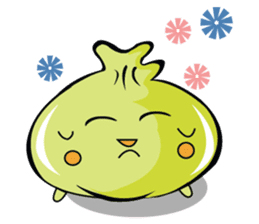 Green Dumplings sticker #10708314