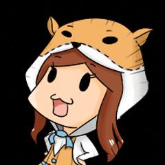 hamster mouse girl
