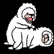 สติ๊กเกอร์ไลน์ Smiling Alpaca 4