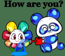 Jewel Panda sticker #10714040