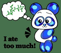Jewel Panda sticker #10714041