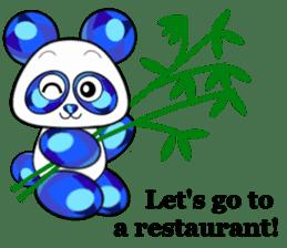 Jewel Panda sticker #10714050